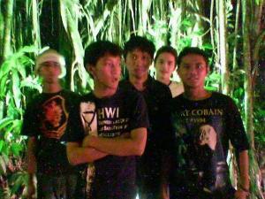 Bersama teman
