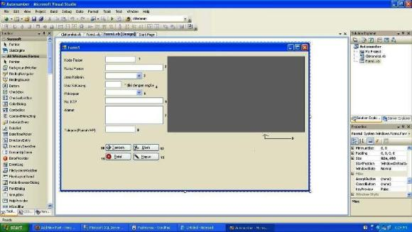 Cara Membuat Autonumber di Visual Basic.Net Menggunakan