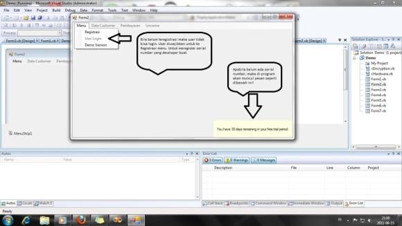 Program Security - 1 VB.Net