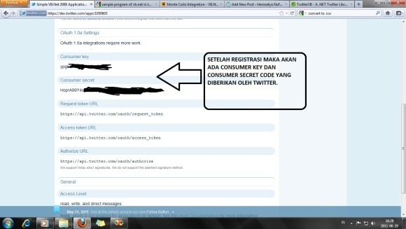 Registrasi User - Twitter
